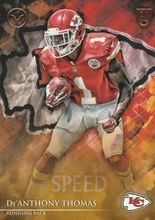 2014 Valor Football Speed #79 De'Anthony Thomas - Kansas City Chiefs RC