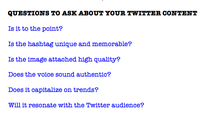 The guidelines for content on Twitter according to author Gary Vaynerchuk