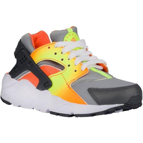 a0425323e67d9 Nike Huarache Run Boys  Grade School ❤ liked on Polyvore featuring shoes  and huarache