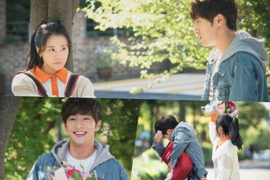 "Lee Sang Yeob Transforms Into A Student Smitten With Choi Kang Hee In ""Good Casting"""