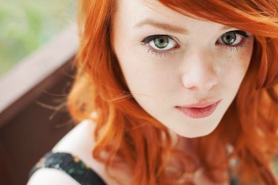 love the red hair