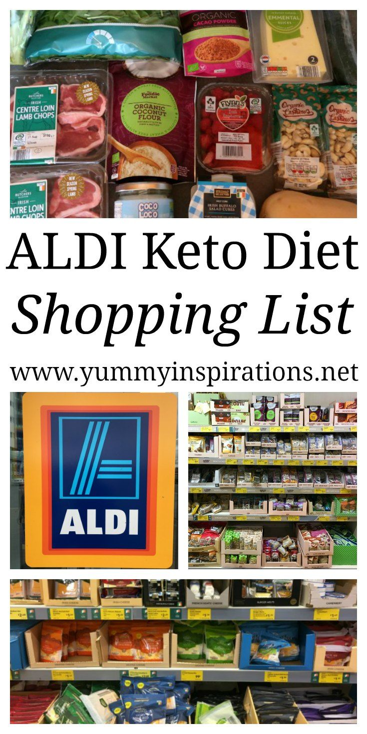 ALDI Keto List - Must Have Foods - Best Ketogenic Diet Plan approved grocery…