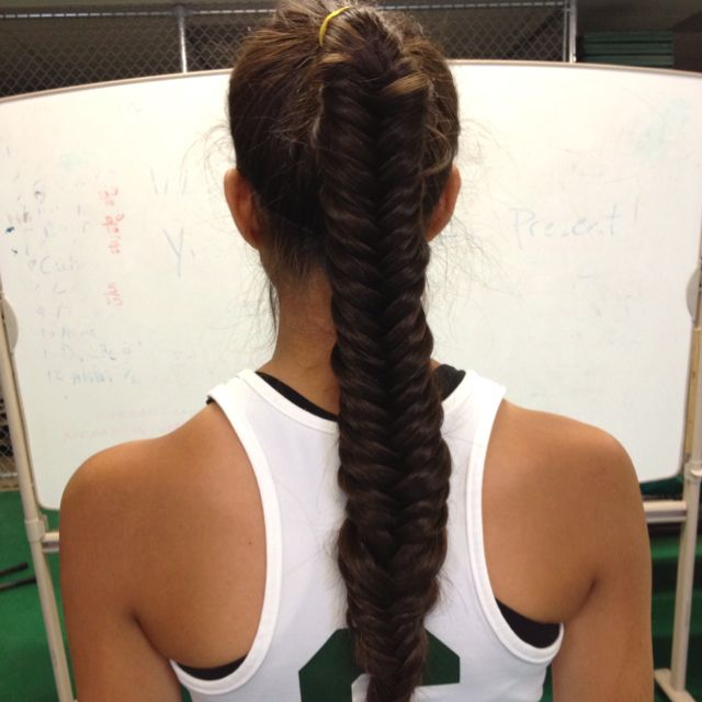 Lacrosse Basketball Hairstyles Game Day Hair Athletic Hairstyles