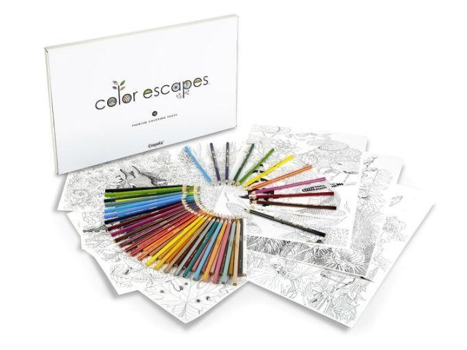 Crayola lanza libros para adultos porque colorear no tiene edad ...