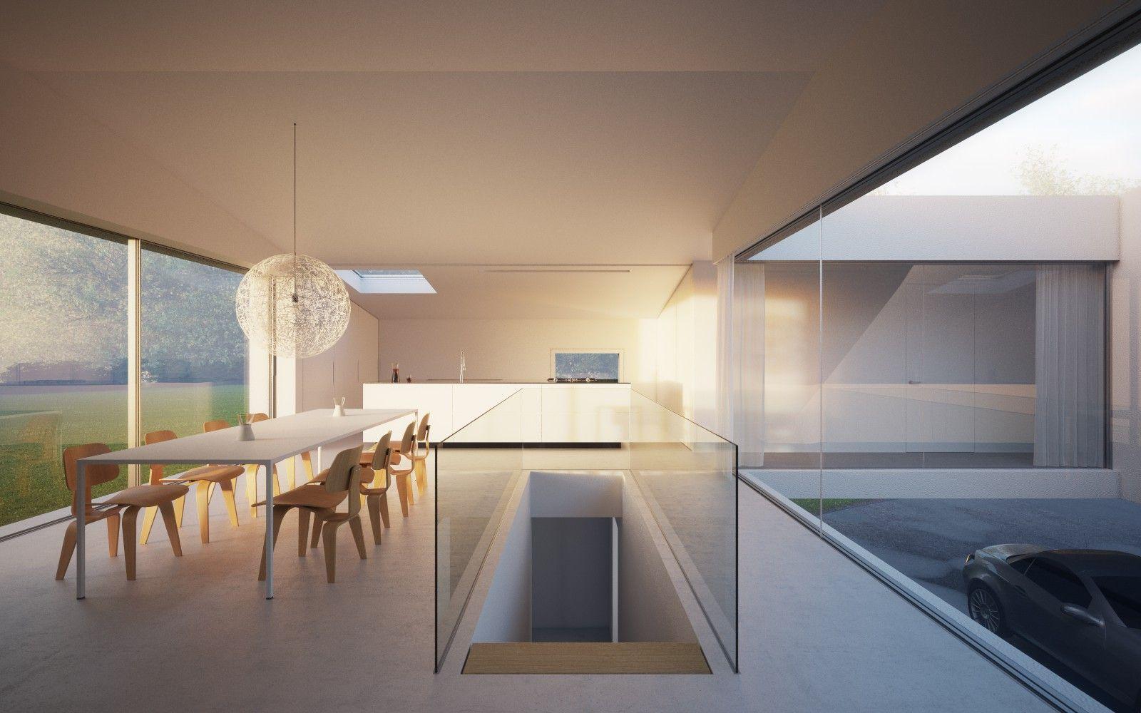 9852fb2122e93be864495d59a8578be1 Jpg 1 600 1 000 Pixel Flot Brug Af Glas Glastrappe Le Architecture House Interior Architecture Design Minimalism Interior