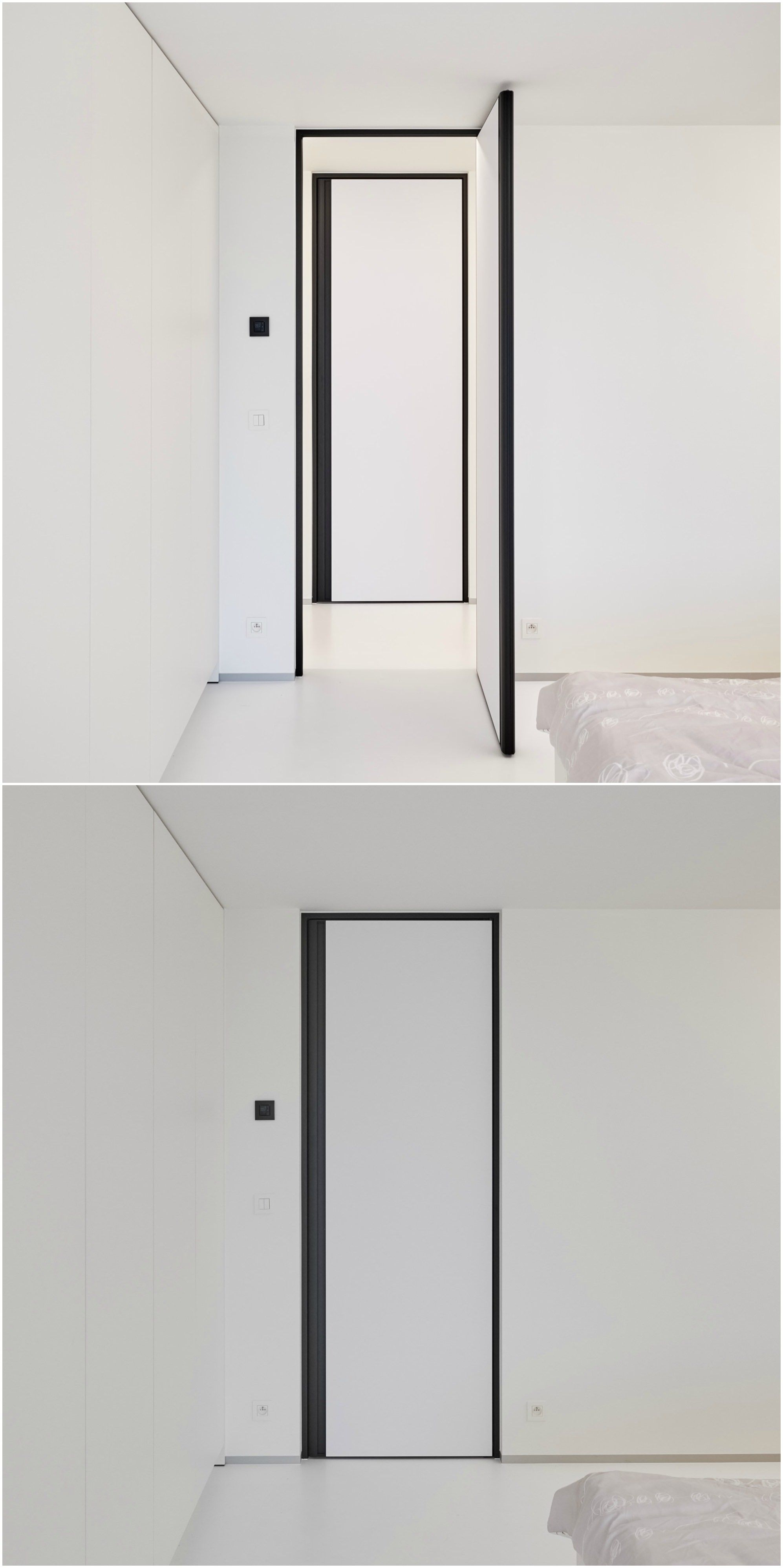 porte int rieure moderne toute hauteur anywaydoors portes int rieures modernes pinterest. Black Bedroom Furniture Sets. Home Design Ideas