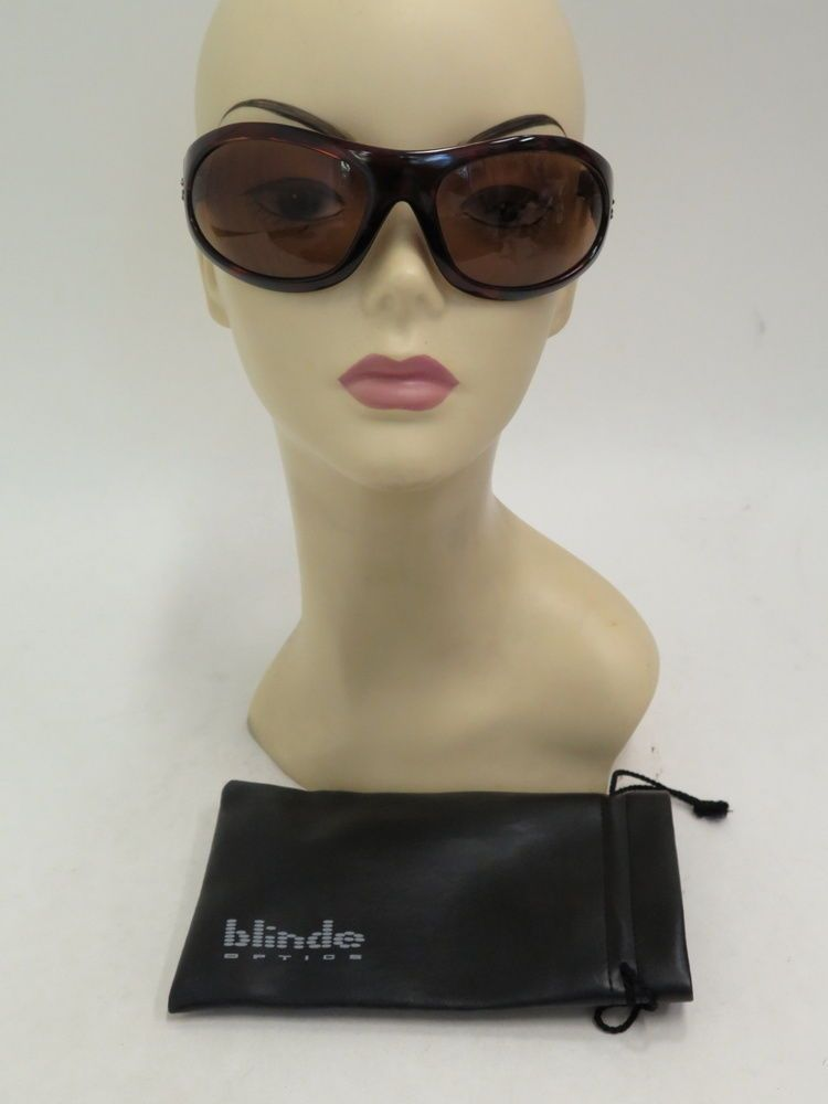 e998126e1f Blinde 88 Special Tortoise Shell Sunglasses Brown Gently Worn  Blinde  Wrap