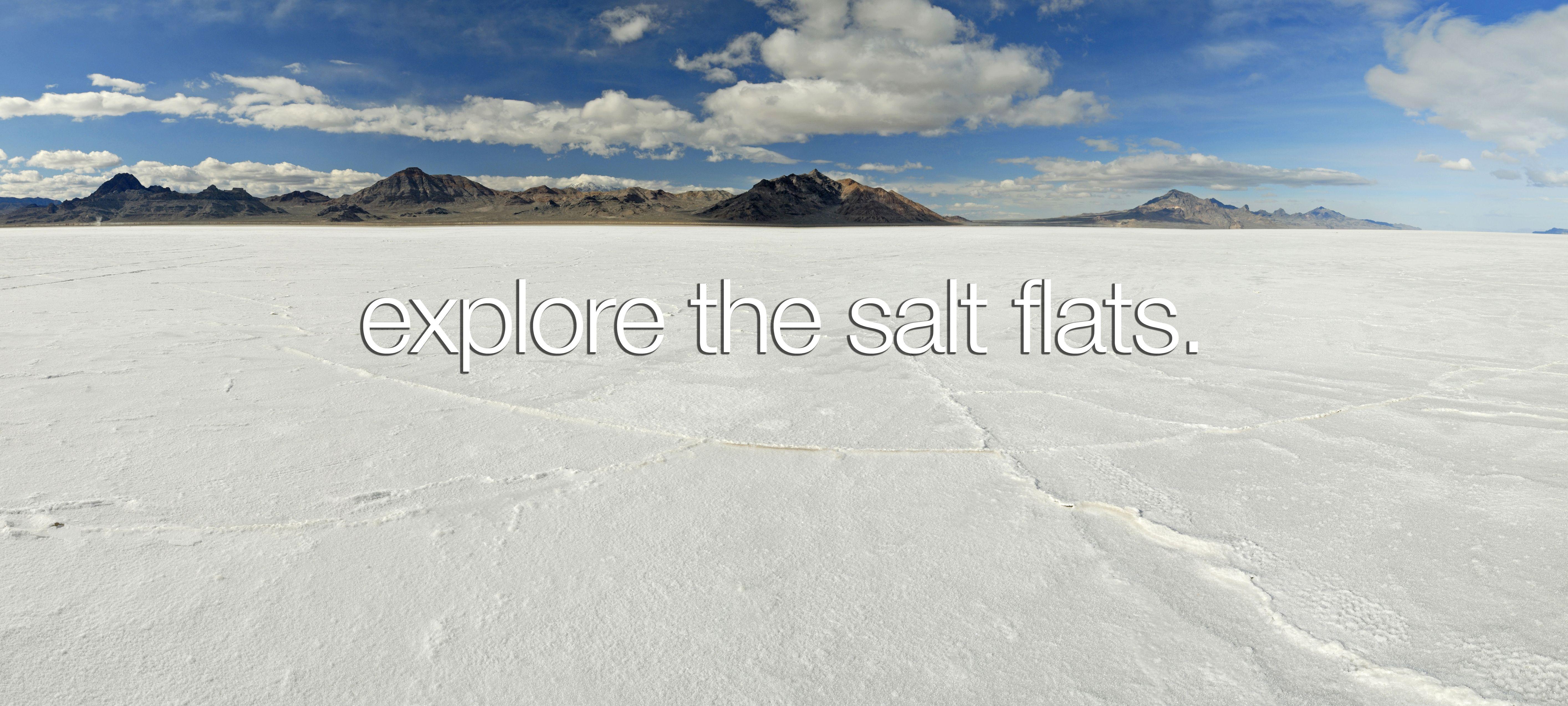 Bonneville Salt Flats, Utah after heavy rain | Travel and