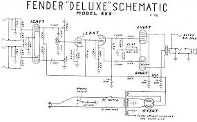 on fender amp schematics free