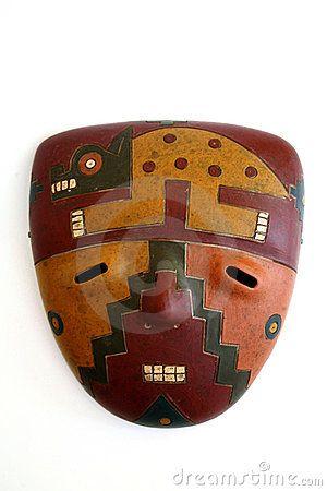 Peruvian mask