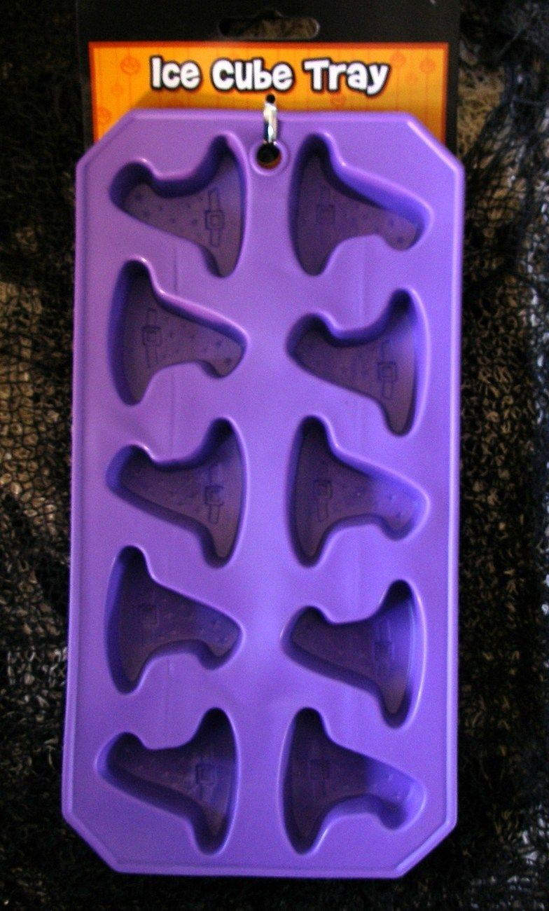 nwt witches hats + stars silicone ice tray jello chocolate mold