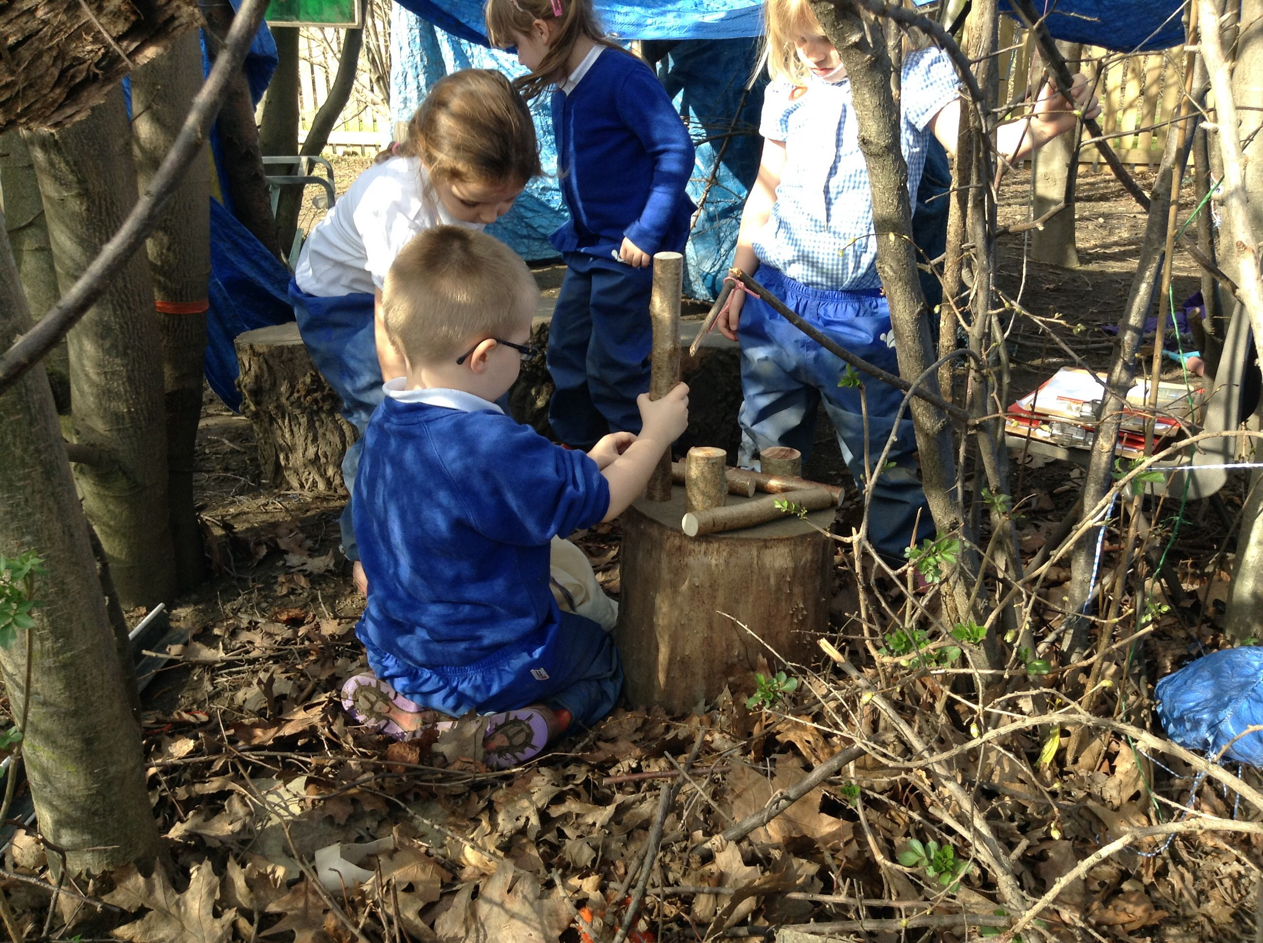 Making fairy dens in our big den (With images) | Eyfs ...