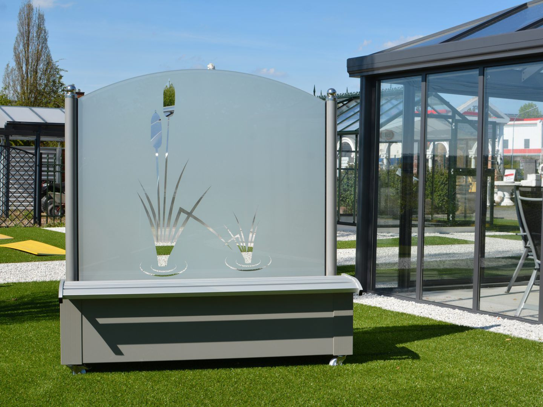 Windschutz Aus Glas Fur Garten Und Terrasse Windschutz Terrasse