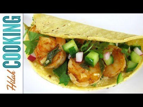 Spicy Shrimp Tacos for the summer eatz  (Don't skimp my shrimp!)