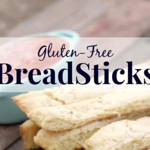 Gluten-Free Breadsticks Recipe