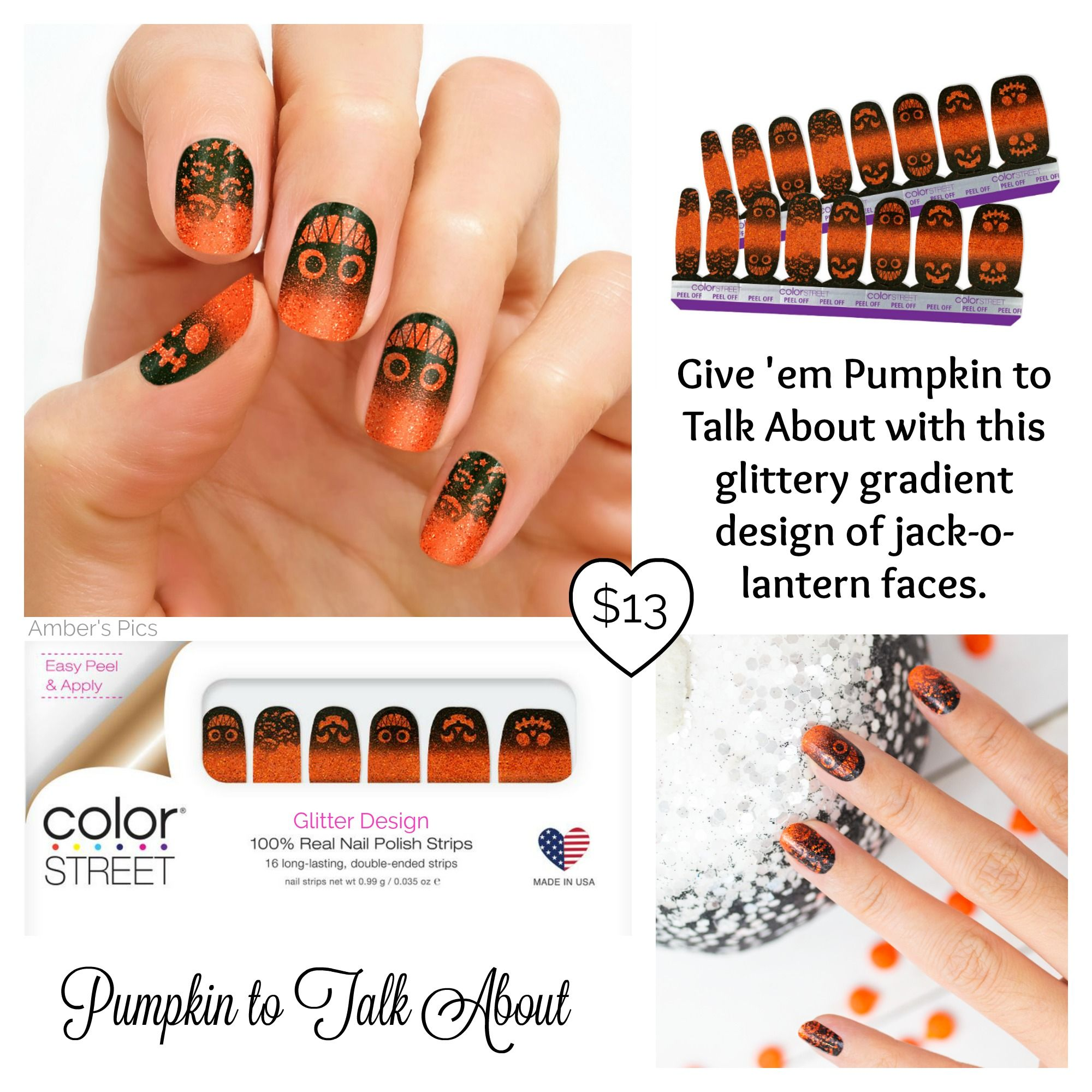 Pumpkin to Talk About Color Street Nails. | Color street ...