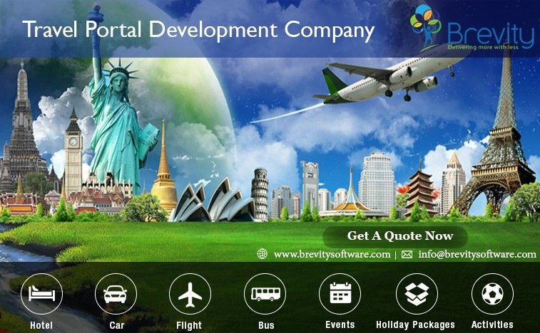 An international travel portal development company