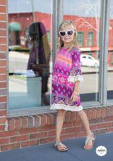 Shake It Off Fuschia Dress