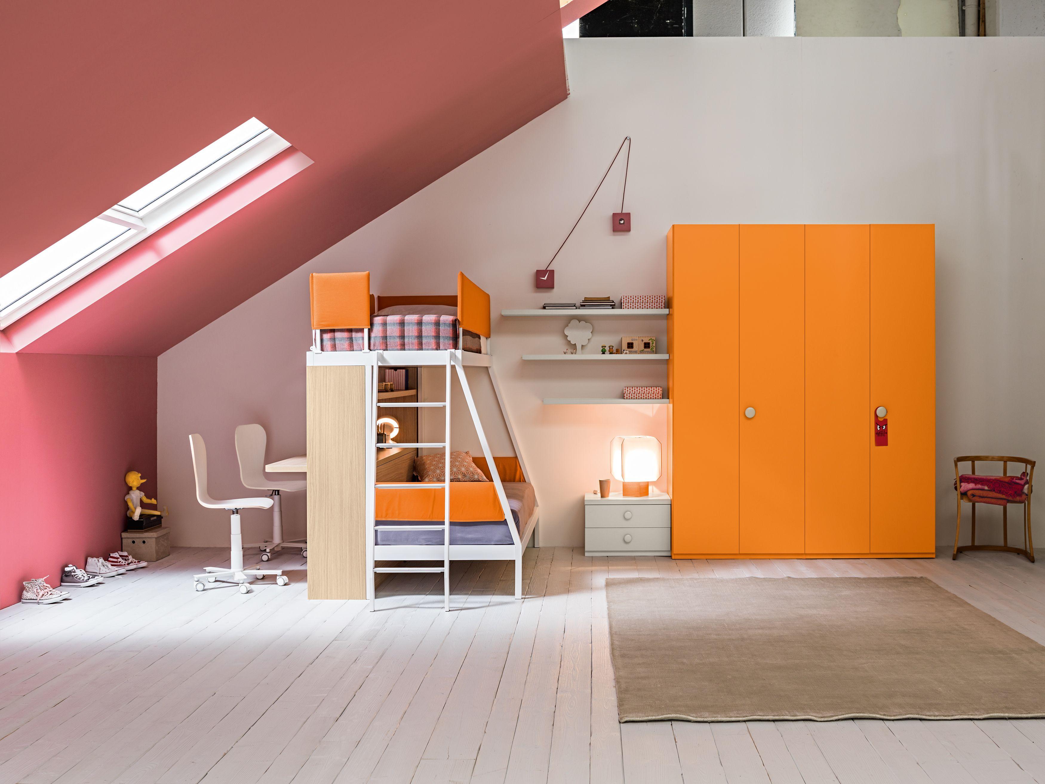 Camerette moderne soppalco Letto estraibile, Idee di design