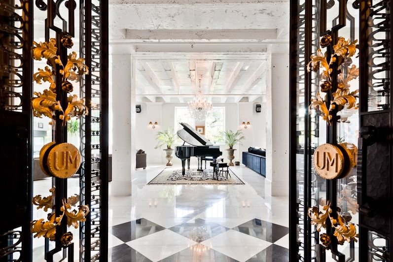 Penthouse Foyer, Downtown Montreal.