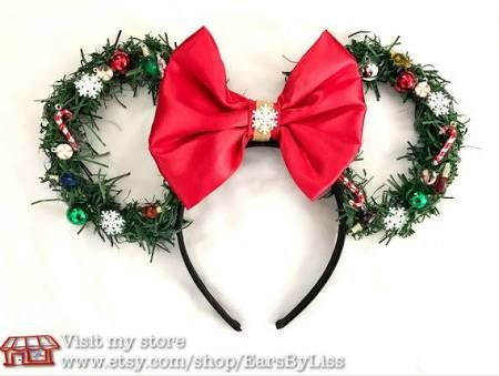 70e5e9365907a Walt Disney World Christmas Ears light up - Google Search