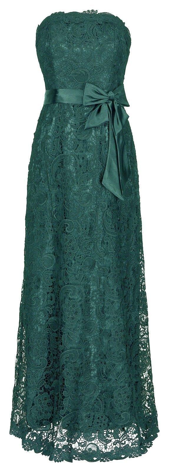 Details zu Juju Christine Spitzenkleid Abendkleid Ballkleid ...