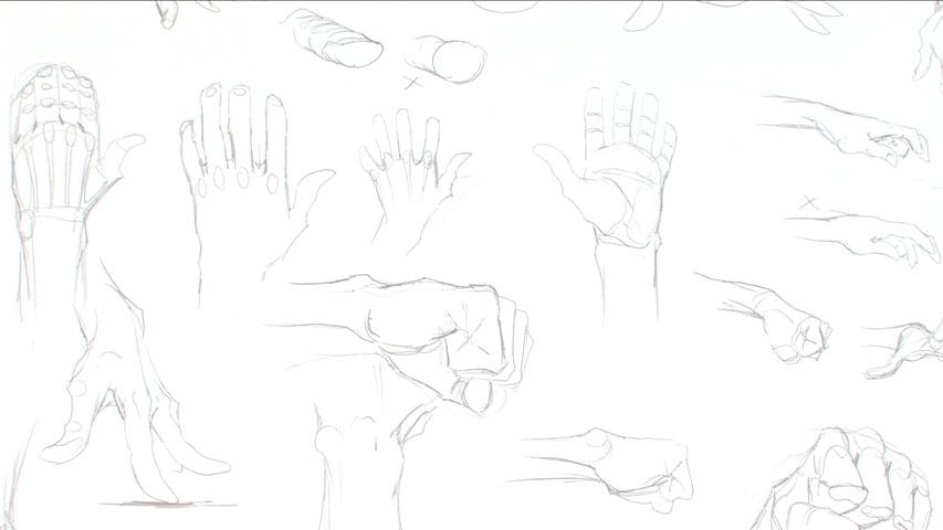The Gnomon Workshop - Dynamic Figure Drawing: Hands and Feet ...