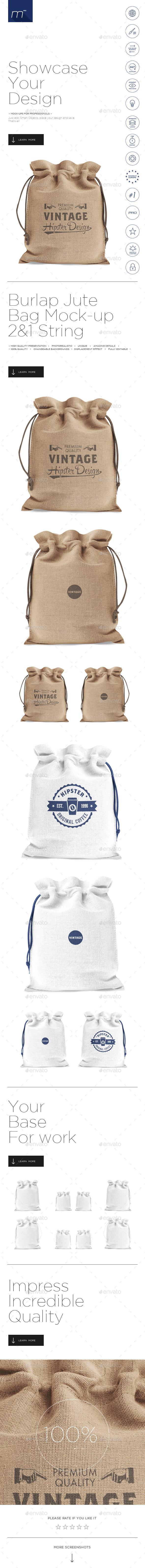 Download Burlap Jute Bag Mock Up Jute Bags Bag Mockup Burlap