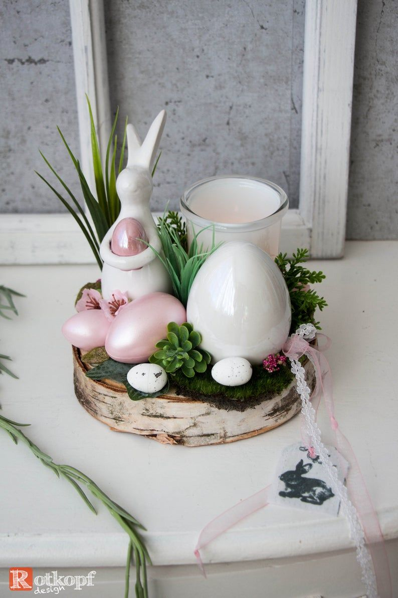 Allegro Follow Couchtisch Frühlingsdeko, Osterdeko, Gesteck Frühling, Tischgesteck, 7/20 | Spring Easter Decor, Spring Easter Crafts, Easter Craft Decorations