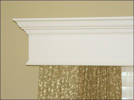 Wood Window Cornices Window Cornices Diy Crown Molding