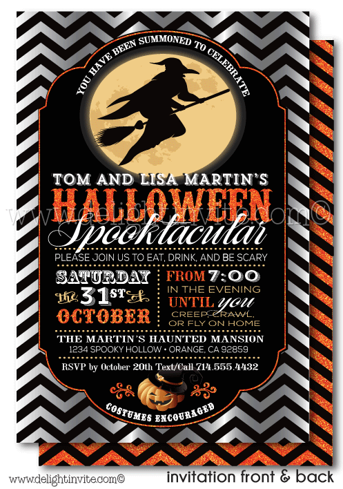 Pin On Adult Halloween Party Invitations