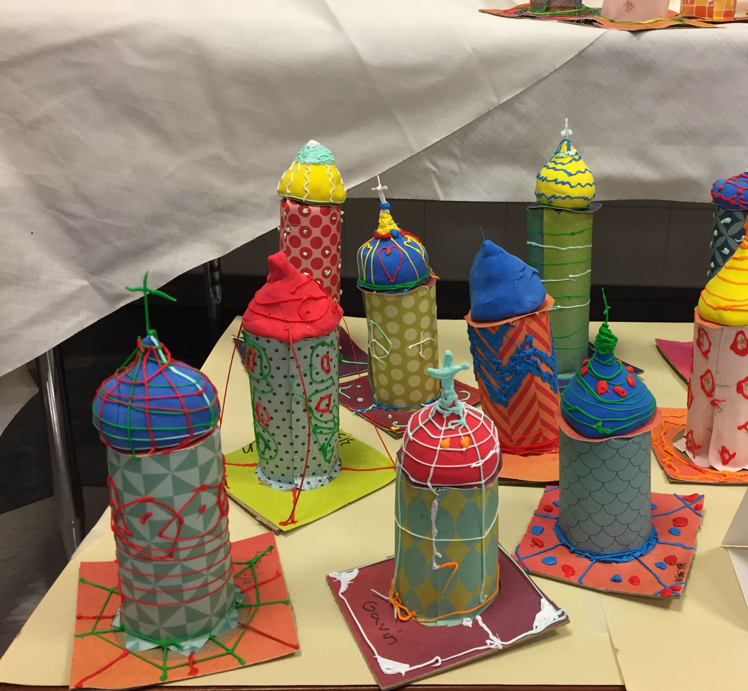 St Basil S Cathedral Towers Fourth Grade Paper Clay