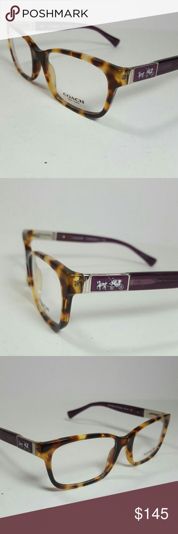 Coach Eyeglasses New and authentic Coach Eyeglasses Tortoise frame ...