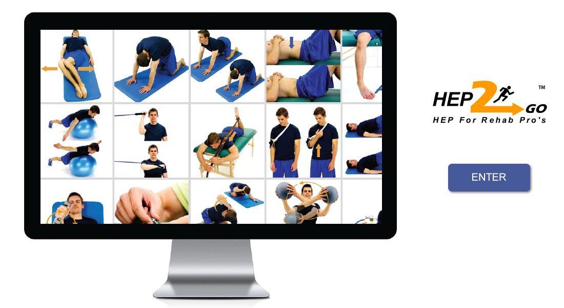 HEP2go Online Home Exercise Program Rehab Physical