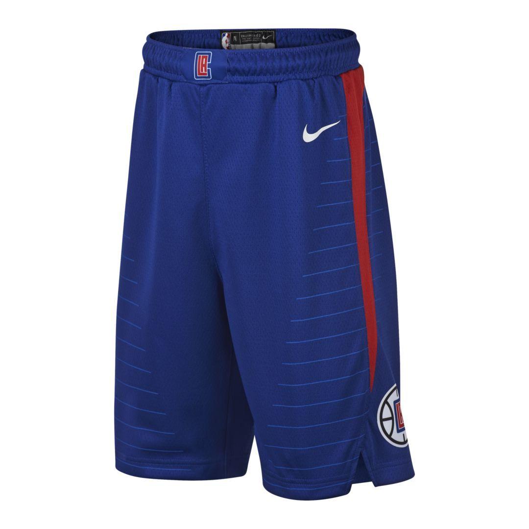 43bcf536cdd LA Clippers Nike Icon Edition Swingman Big Kids  (Boys ) NBA Shorts Size