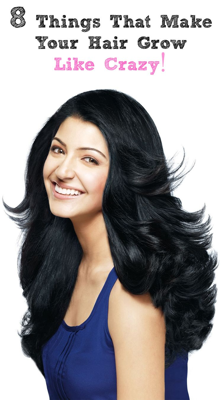 8 Things That Make Your Hair Grow Like Crazy Hair Styles Hair Growth Tips Hair Beauty