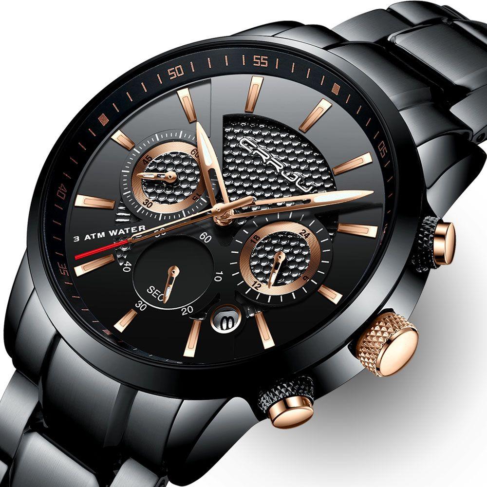 Chronographmenwatch 2212 Modische Armbanduhren Uhren Herren Uhren