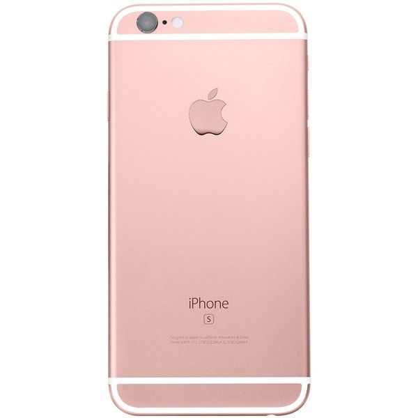 67cf390378f Iphone 6s Plus 64gb Oro Rosa Libre De Fábrica Sellado ❤ liked on Polyvore  featuring phones and iphone smartphone