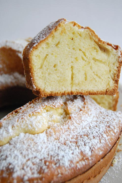 Ciambellone Ring Cake - Old Days Italian Staple - Ciambellone Recipe