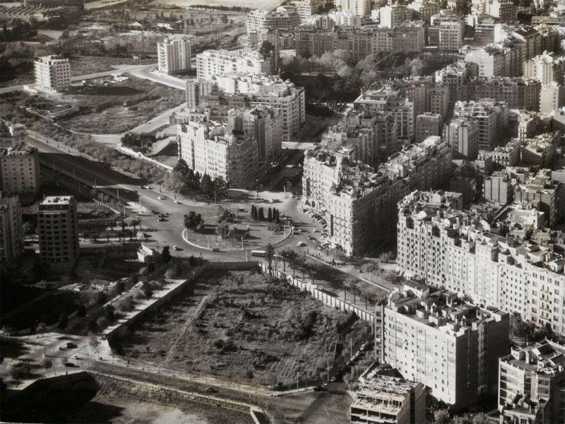 Placa Francesc Macia 1960 Barcelona Barcelona Memories