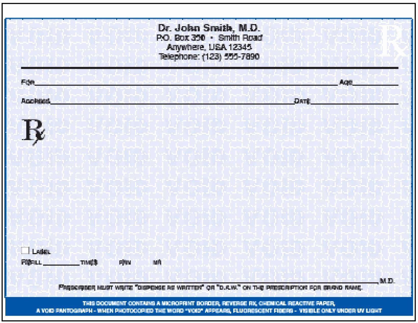 Printable Fake Prescription Forms Best Of Templates Clipart Pad Paper Pencil And In Color Microsoft Word Free Prescription Pad Medical Prescription