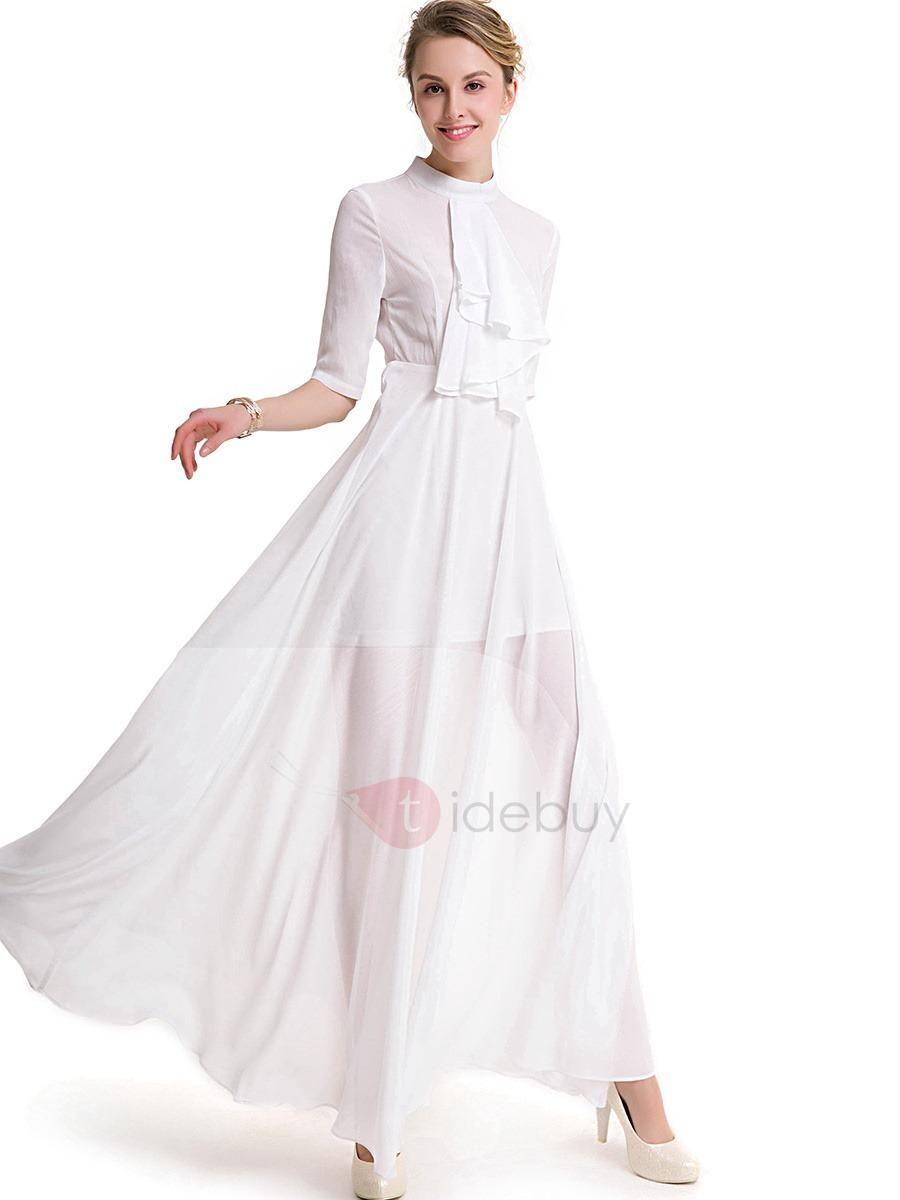 Pure color long sleeve maxi dress long sleeve maxi maxi dresses