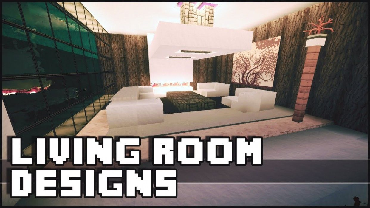 16 Gorgeous Living Room Youtube In 2021 Minecraft Living Room Design Minecraft Living Room Minecraft Bedroom Decor