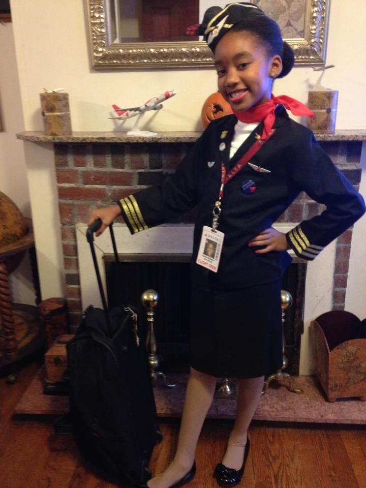Delta Airlines Flight Attendant Costume Halloween Costume