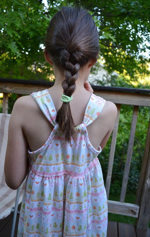 Racerback summertime knit dress