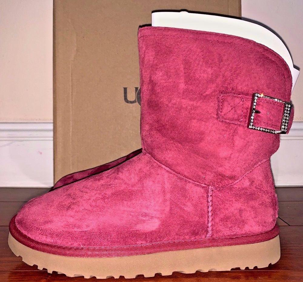 3ed8b40ab02 Ugg Australia Womens Remora Garnet Boots Size 7 #UGGAustralia ...