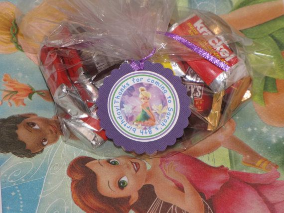 NEW Tinkerbell Favor TagsSet of 12 by PartiezwithPizazz on Etsy, $9.50