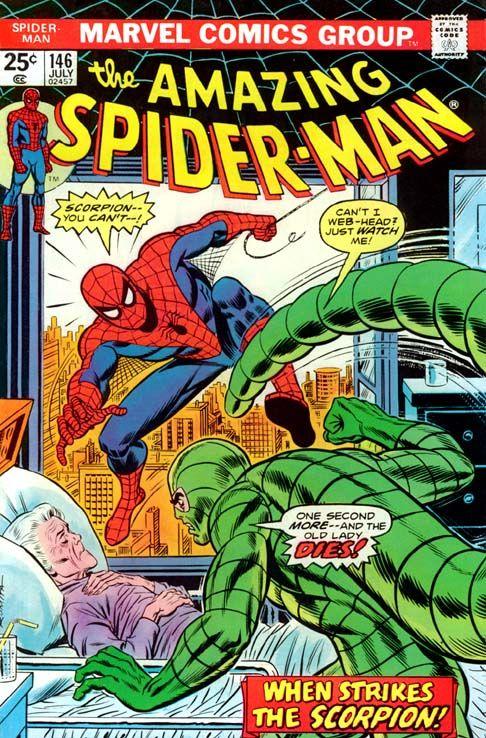 Asm146 Marvel Comics Superheroes Spiderman Comic Marvel Comics Covers