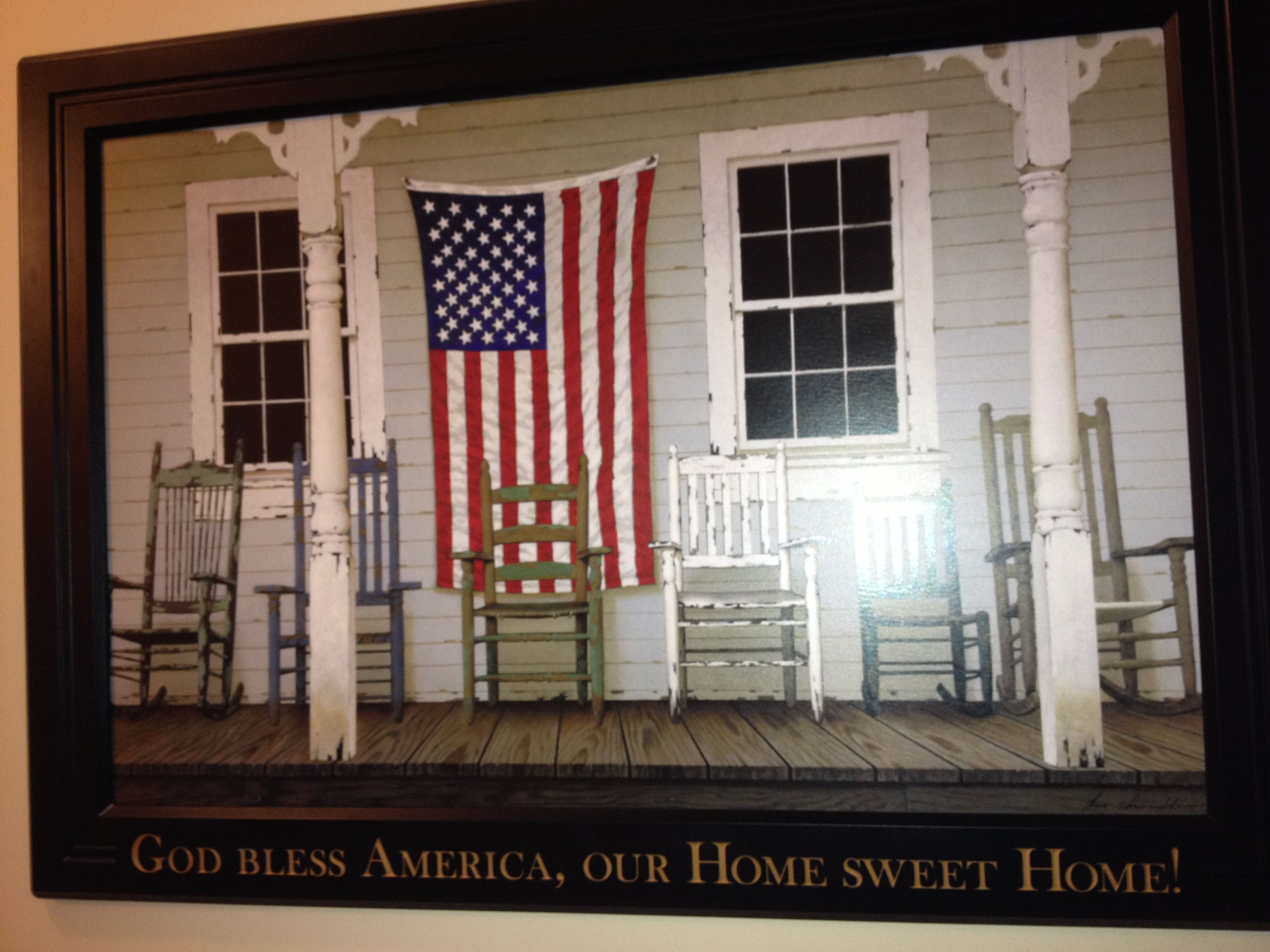 God Bless America Our Home Sweet Home Framed Art Hobby Lobby Recently On Sale 50 Off God Bless America Sweet Home Home