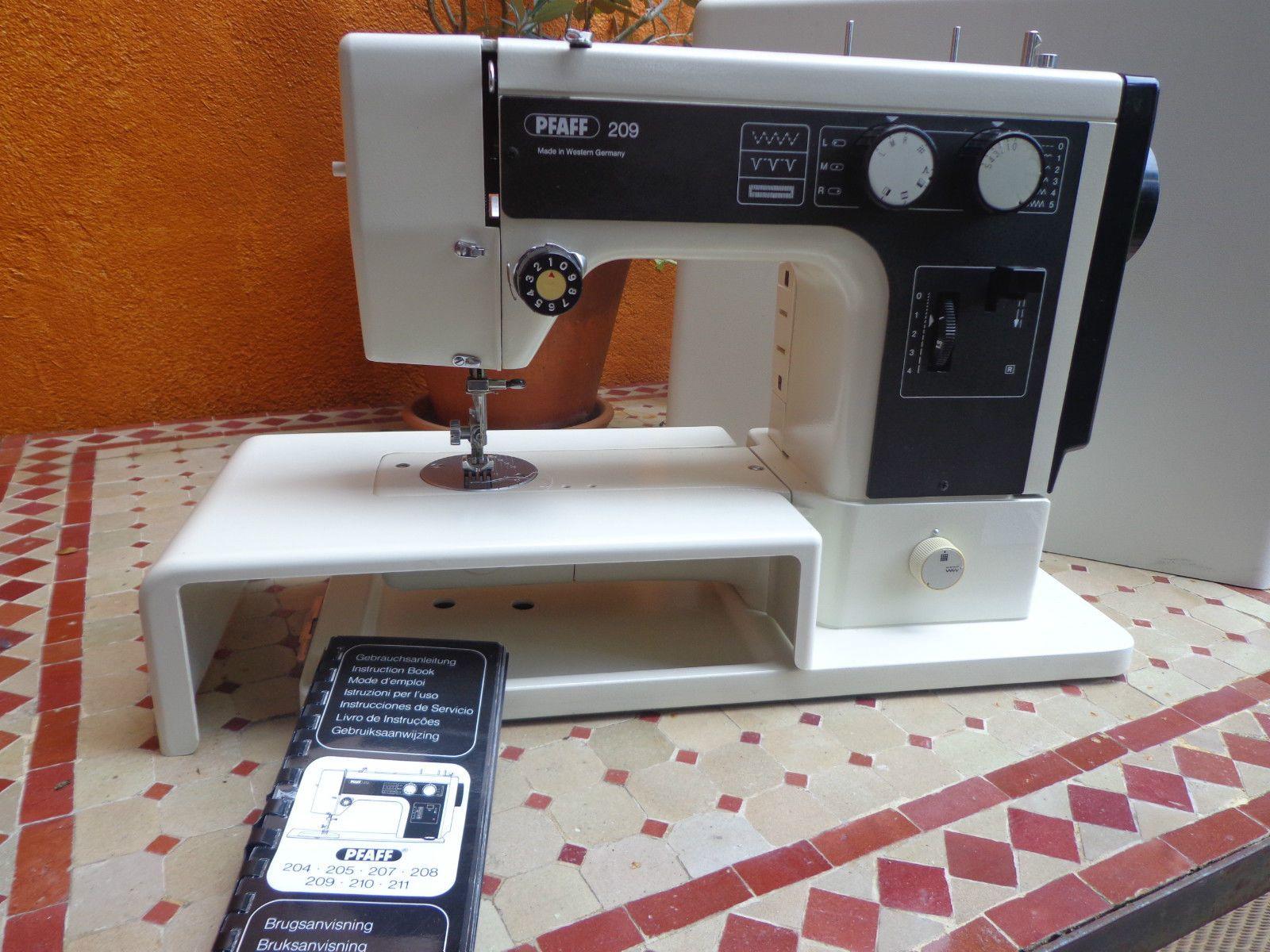 Nähmaschine Pfaff 209 ohne Fusspedal als Ersatzteilespender Pfaff 209 sewing  machine